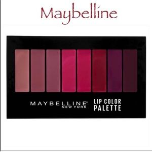 💋5 for $25💋 Maybelline Lip Color Palette